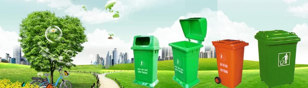 Bán thùng rác nhựa 120 lít chất lượng giá tốt